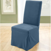 SURE FIT® Stretch Pique Dining Chair Slipcover - Long
